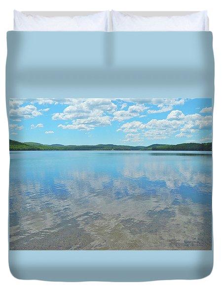 Anasagunticook Lake, Canton, Me, Usa 10 Duvet Cover by George Ramos