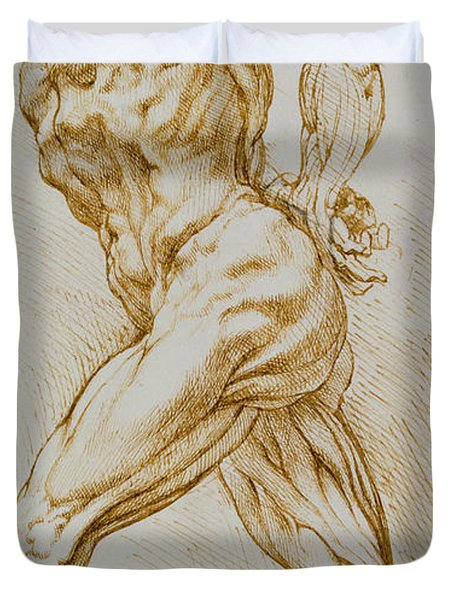 Anatomical Study Duvet Cover