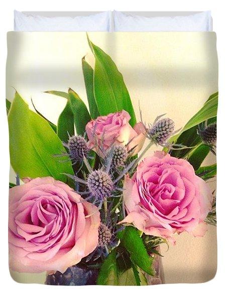 Forever Flowers Duvet Cover