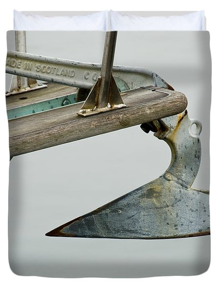 Sailboat Anchor Duvet Cover