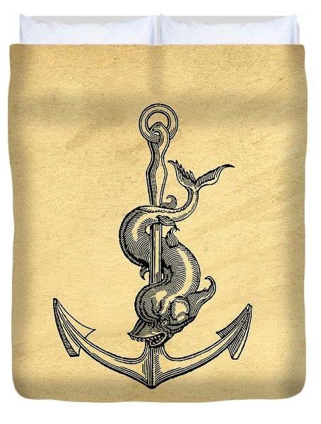 Anchor Vintage Duvet Cover