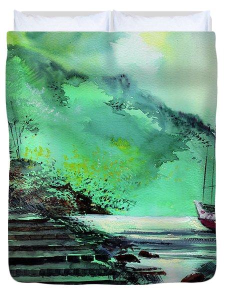 Anchored Duvet Cover