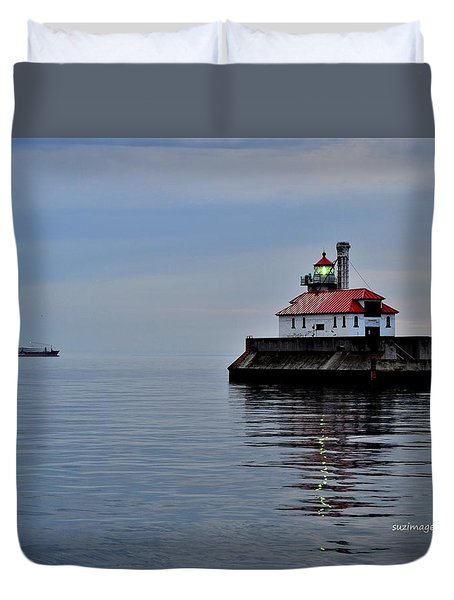 Anchored Duvet Cover