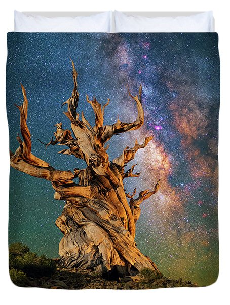 Ancient Beauty Duvet Cover