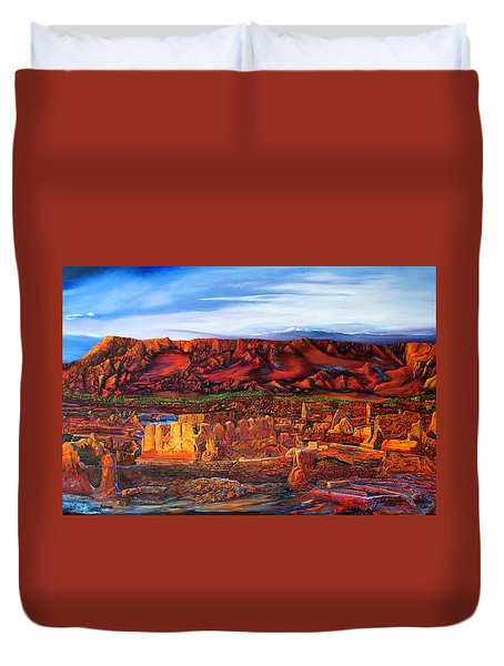 Ancient City Duvet Cover