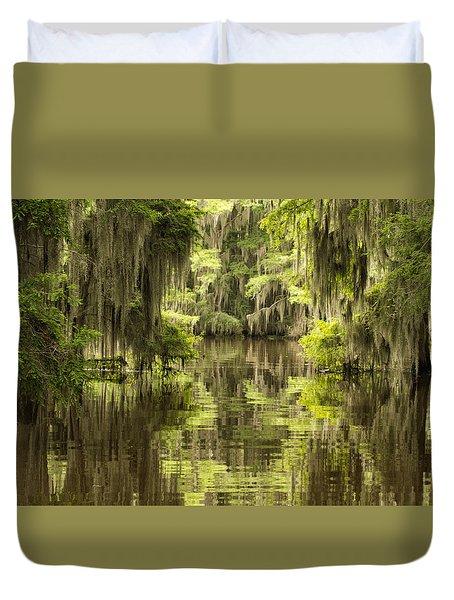 Ancient Cypress Duvet Cover