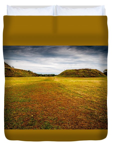 Ancient Indian Burial Ground  Duvet Cover