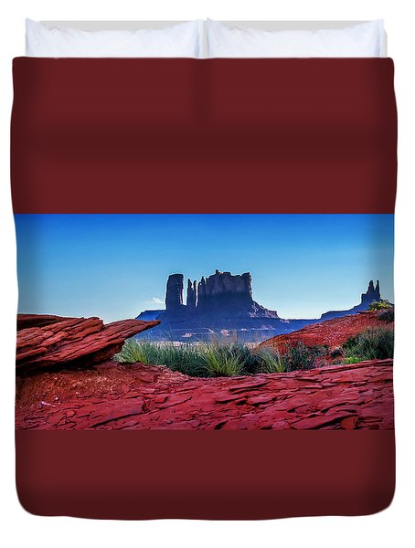 Ancient Monoliths Duvet Cover
