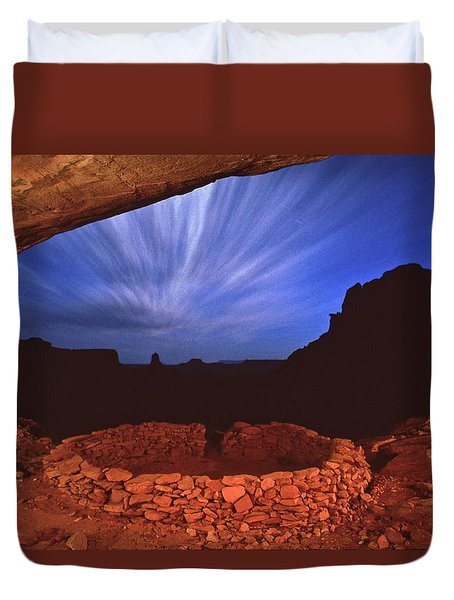 Ancient Night Duvet Cover