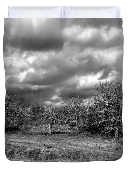 Ancient Orchard Duvet Cover