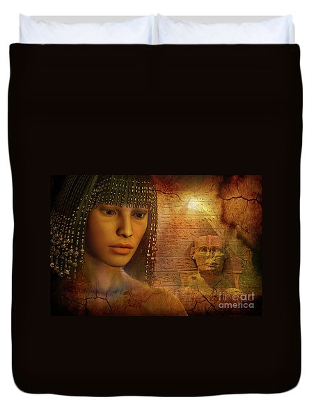 Ancient Past Duvet Cover
