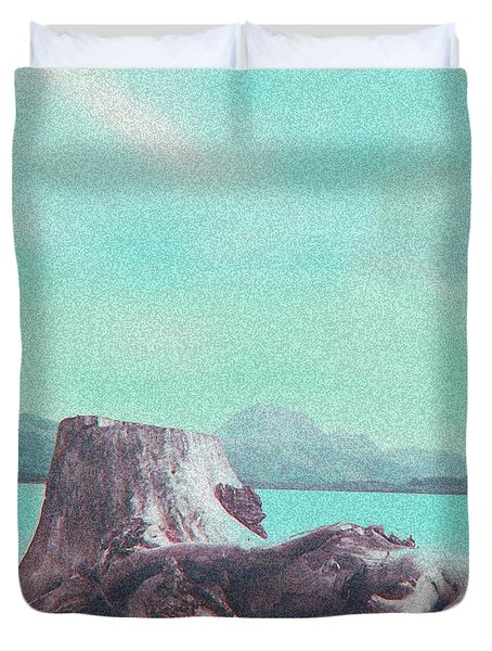 Ancient Pine Tree  Duvet Cover