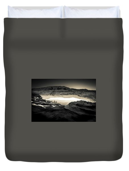 Ancient View Duvet Cover
