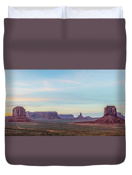 Ancient Voices Duvet Cover