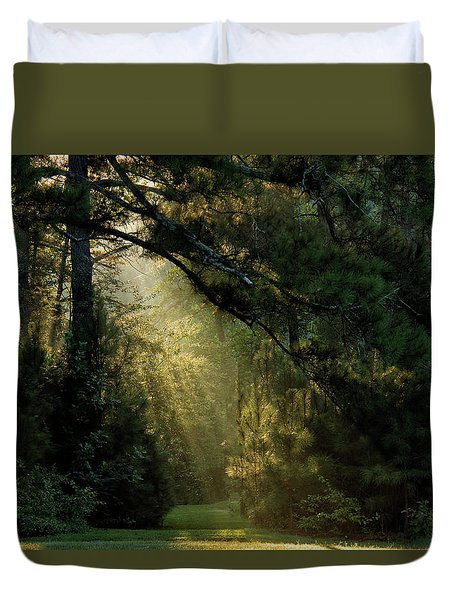 And A New Day Will Dawn... Duvet Cover
