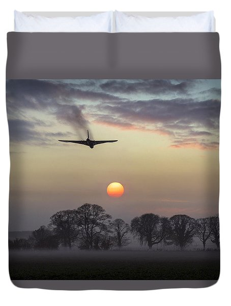 And Finally Duvet Cover