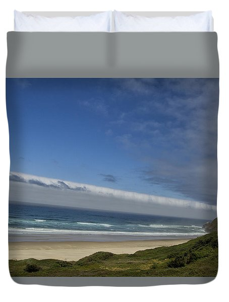 Duvet Cover featuring the photograph And Miles To Go  by Tom Kelly