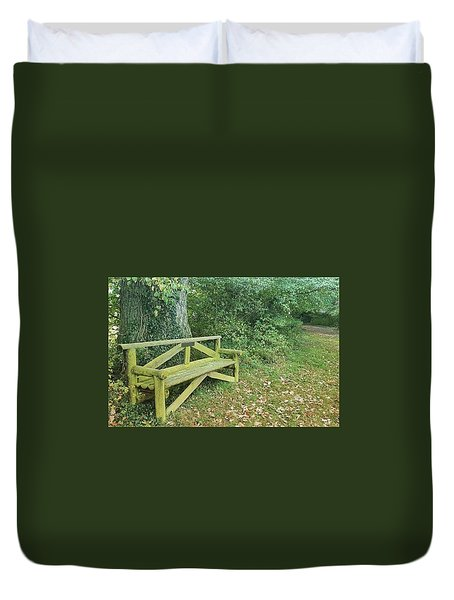 Woodland Seat Duvet Cover