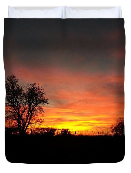 ...and The Day Ended As Beautifully As Duvet Cover