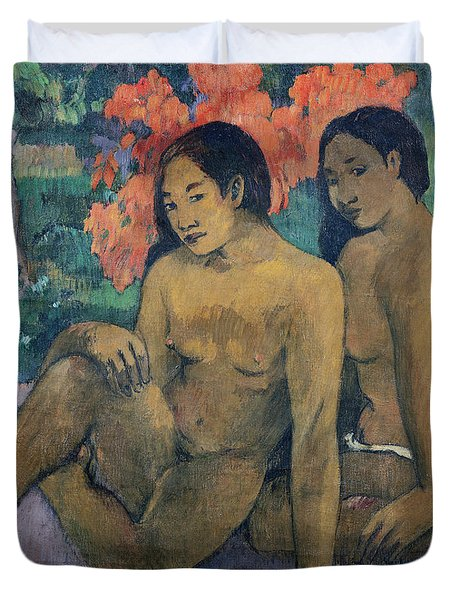 And The Gold Of Their Bodies Duvet Cover by Paul Gauguin