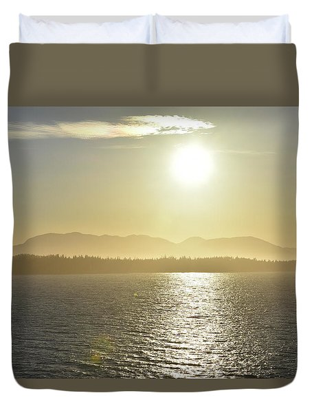 And The Sun Goes Down Duvet Cover