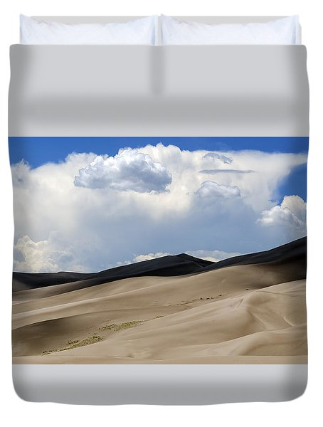 And Then The Storm Duvet Cover