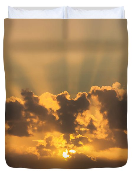 And Then There Was Day Five Duvet Cover
