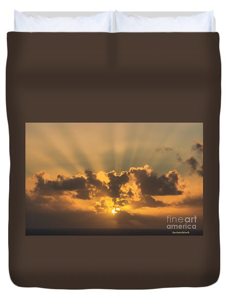 And Then There Was Day Five Duvet Cover by Roberta Byram