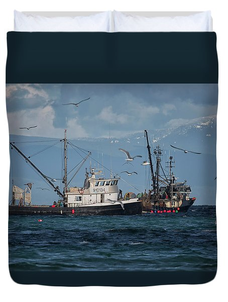Kornat And Western Investor Duvet Cover by Randy Hall