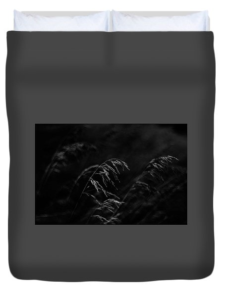 And Yet More Darkness Duvet Cover