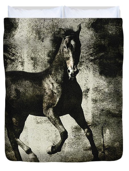 Andalusian Horse Duvet Cover