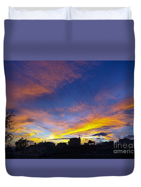 Andalusian Sunset Duvet Cover