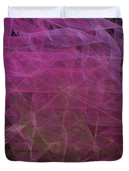 Duvet Cover featuring the digital art Andee Design Abstract 67 2017 by Andee Design