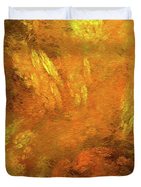 Duvet Cover featuring the digital art Andee Design Abstract 79 2017 by Andee Design