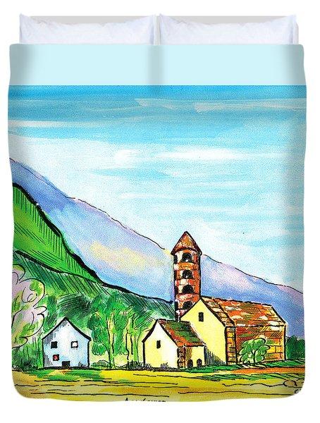 Andorra Duvet Cover