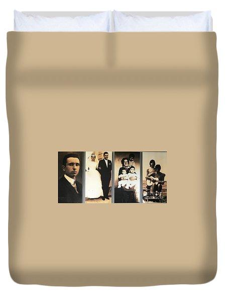 Andrea Bocelli Family Duvet Cover
