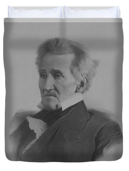 Andrew Jackson Duvet Cover by War Is Hell Store