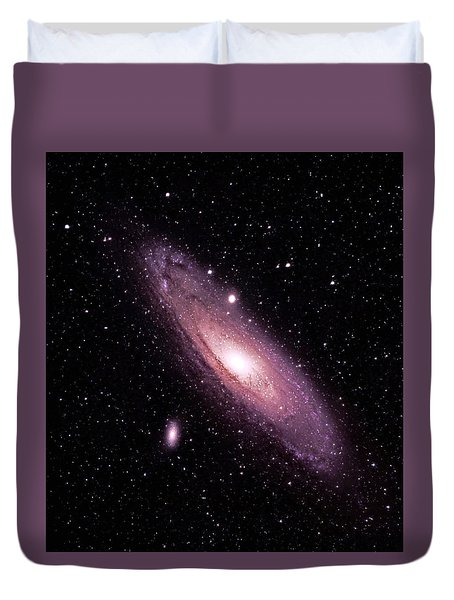 M31 Andromeda Galaxy Duvet Cover