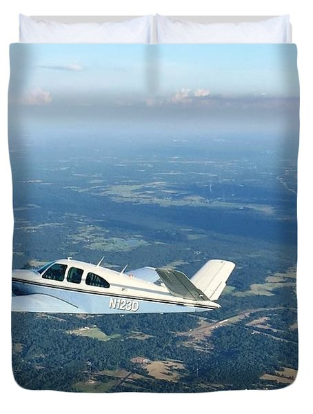 Andy And His Bonanza Duvet Cover