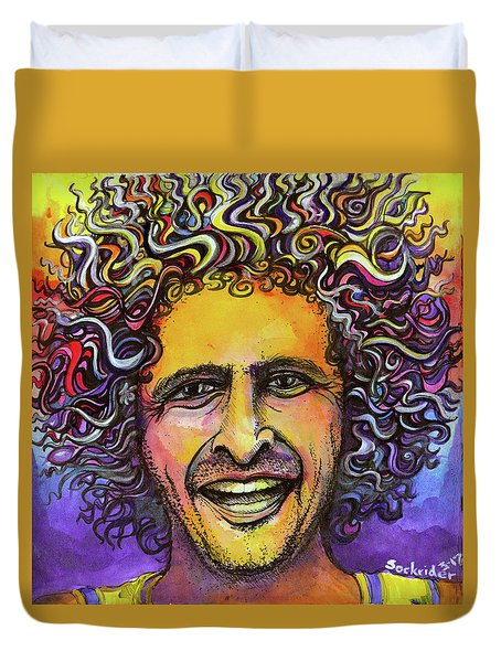 Andy Frasco Duvet Cover