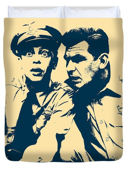 Andy Griffith Poster Duvet Cover