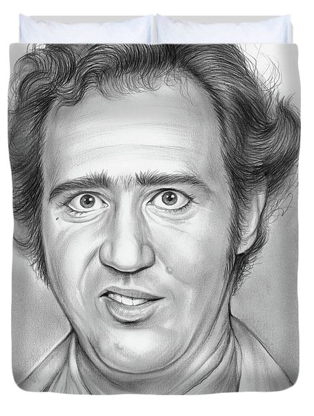 Andy Kaufman Duvet Cover