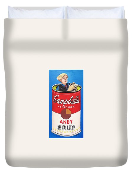Andy Soup Duvet Cover