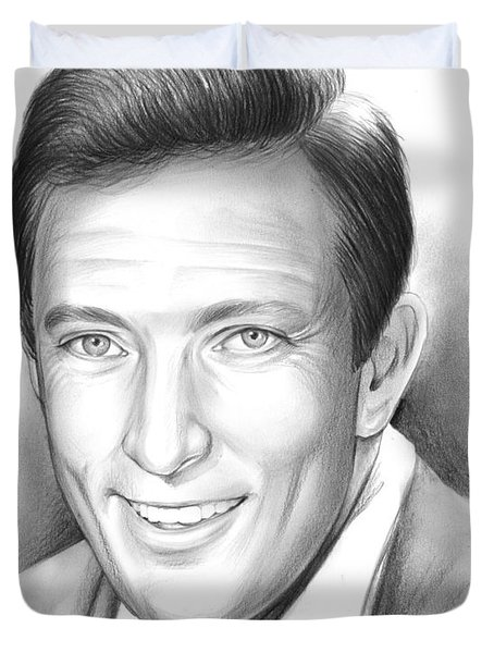 Andy Williams Duvet Cover