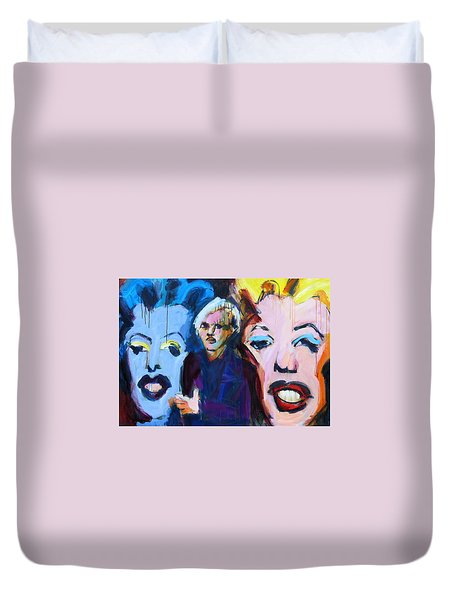 Andy's Monsters Duvet Cover