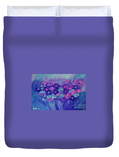 Anemone Duvet Cover by AmaS Art