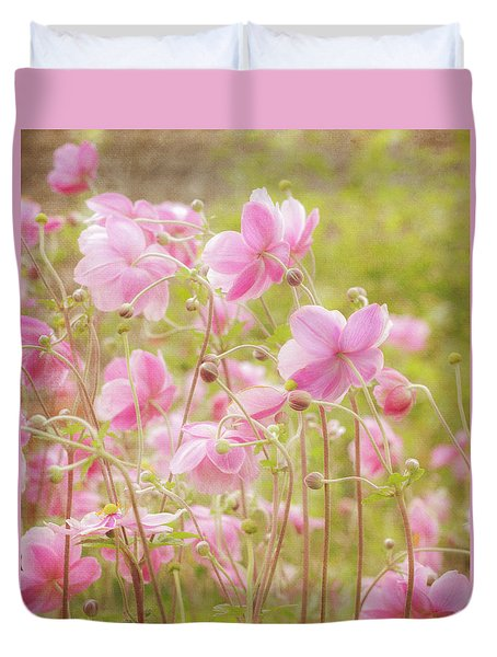 Anemone Dance Duvet Cover