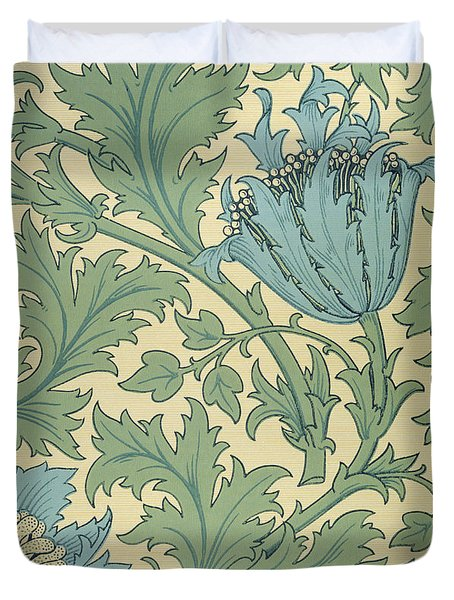 Anemone Design Duvet Cover by William Morris