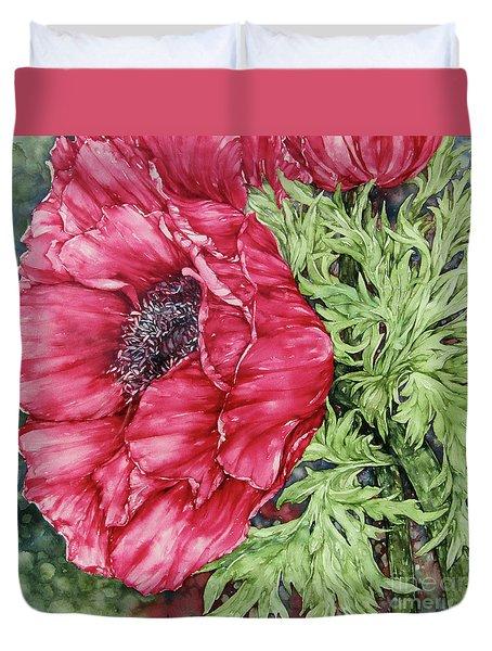 Anemone Duvet Cover by Kim Tran