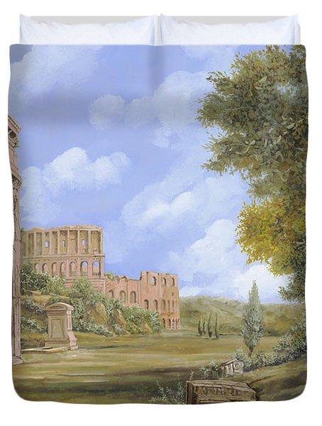 Anfiteatro Romano Duvet Cover